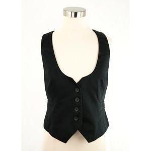LOFT Black Vest M